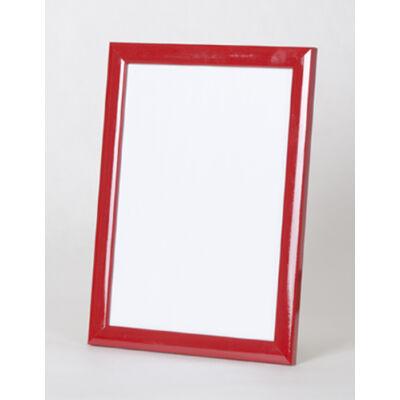 Fa képkeret 30 x 30 cm - Piros