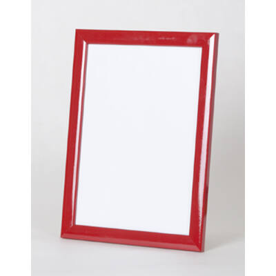 Fa képkeret 50 x 50 cm - Piros