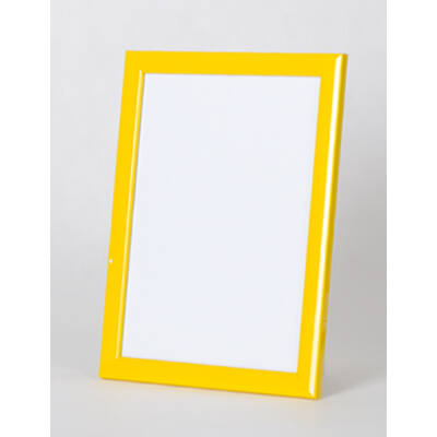 Fa képkeret 20 x 30 cm - Sárga