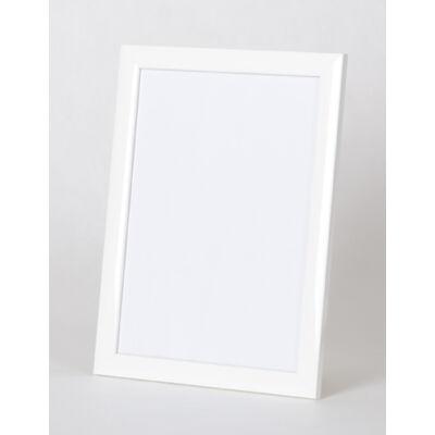 Fa képkeret 60 x 80 cm - Fehér