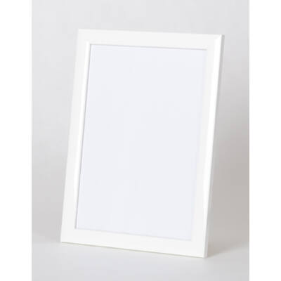 Fa képkeret 21 x 29,7 cm (A4) - Fehér