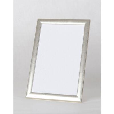 Fa képkeret 40 x 50 cm - Ezüst