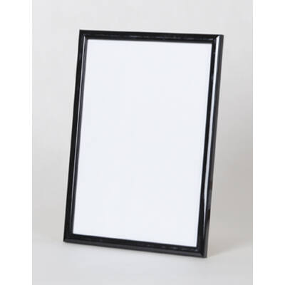 Fa képkeret 20 x 28 cm - Fekete