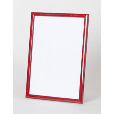 Fa képkeret 15 x 20 cm - Piros