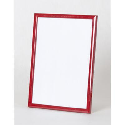 Fa képkeret 18 x 24 cm - Piros