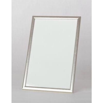 Fa képkeret 14,8 x 21 cm (A5) - Ezüst