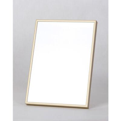 Fém képkeret 15 x 20 cm - Matt arany