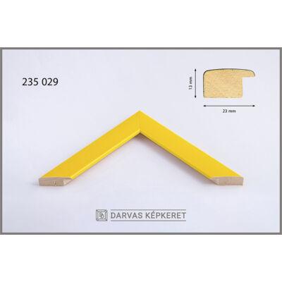 Fa képkeret 70 x 100 cm - Sárga