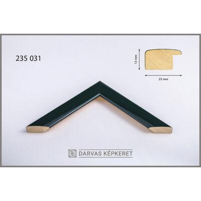 Fa képkeret 40 x 40 cm - Sötétzöld