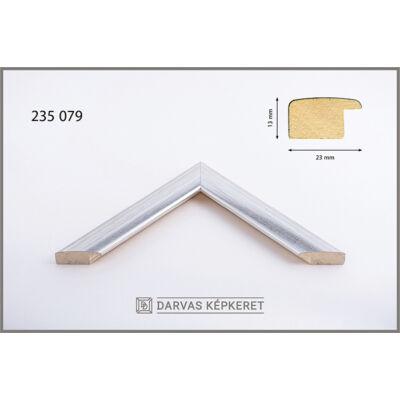 Fa képkeret 70 x 100 cm - Ezüst