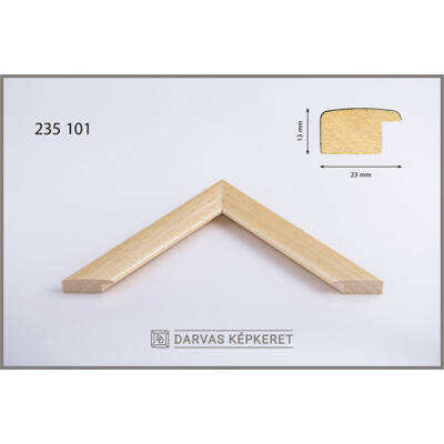 Fa képkeret 42 x 59,4 cm (A2) - Natúr
