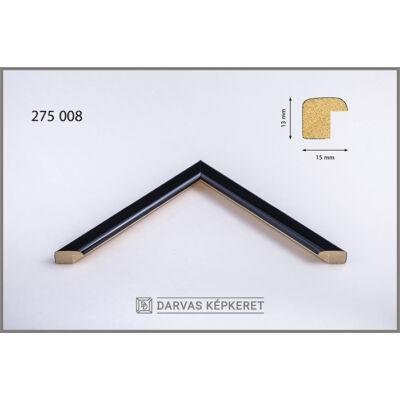 Fa képkeret 10 x 15 cm -  Fekete