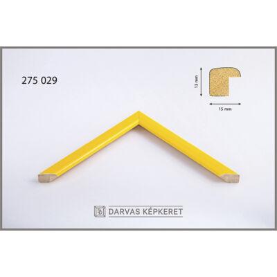 Fa képkeret 14,8 x 21 cm (A5) - Sárga
