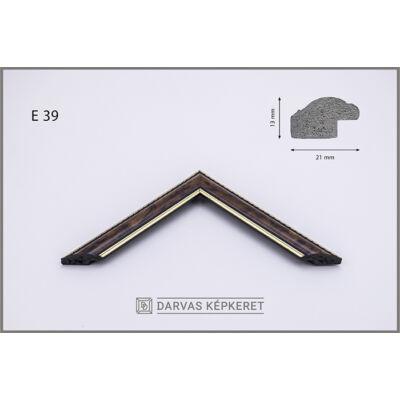 Műanyag képkeret 29,7 x 42 cm (A3) - E.39