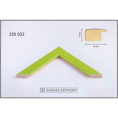 Fa képkeret 40 x 40 cm - Világoszöld
