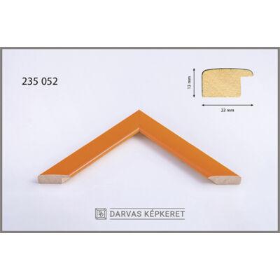 Fa képkeret 40 x 40 cm - Narancs