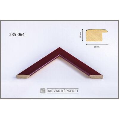 Fa képkeret 60 x 80 cm - Bordó