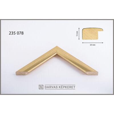 Fa képkeret 24 x 30 cm - Arany