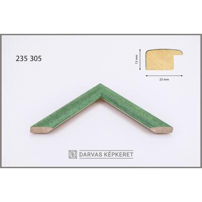 Fa képkeret 50 x 50 cm -  Zöld