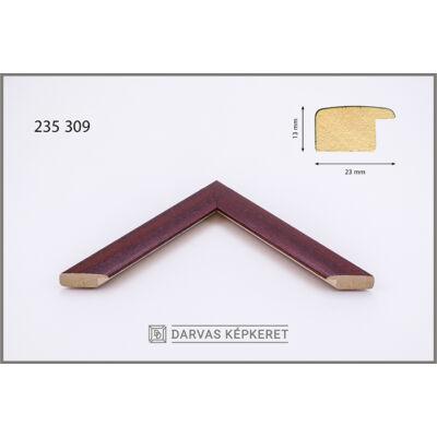 Fa képkeret 20 x 30 cm (TÖBB MÉRETBEN) - Bordó
