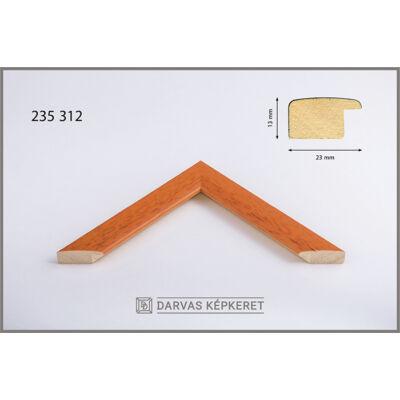 Fa képkeret 50 x 50 cm - Narancs