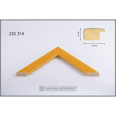 Fa képkeret 40 x 40 cm - Sárga