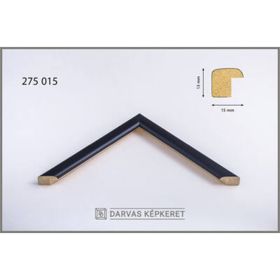 Fa képkeret 18 x 24 cm - Fekete