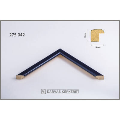 Fa képkeret 10 x 15 cm (TÖBB MÉRETBEN) -  Sötétkék