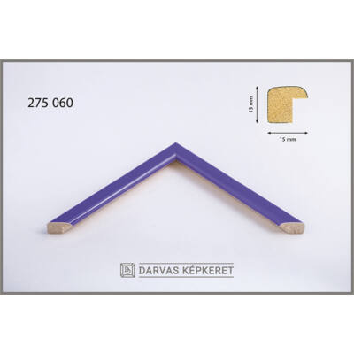 Fa képkeret 10 x 15 cm (TÖBB MÉRETBEN) -  Lila