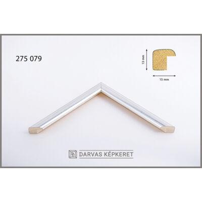 Fa képkeret 10 x 15 cm (TÖBB MÉRETBEN) -  Ezüst