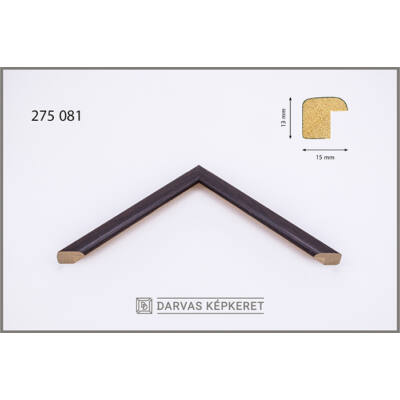 Fa képkeret 14,8 x 21 cm (A5) - Wenge