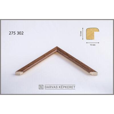 Fa képkeret 20 x 20 cm - Dió