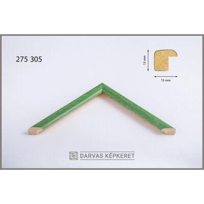 Fa képkeret 15 x 20 cm - Zöld