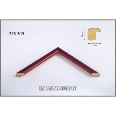 Fa képkeret 20 x 20 cm - Bordó