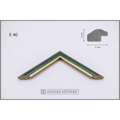 Műanyag képkeret - Több méretben - E.40